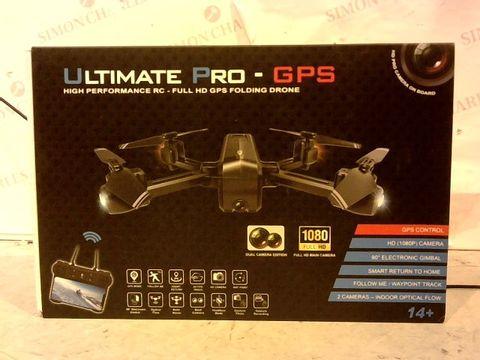 Lot 12471 ULTIMATE PRO GPS HIGH PERFORMANCE RC-HD PRO FOLDING DRONE