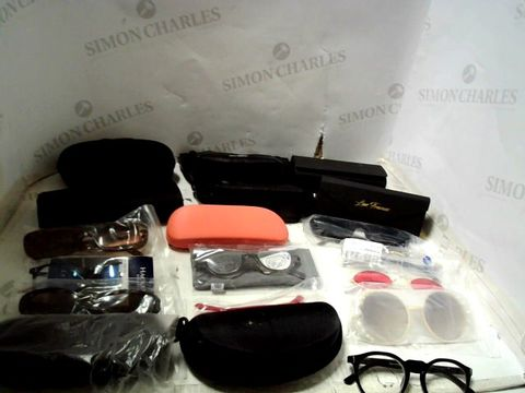 Lot 158 LOT OF APPROXIMATELY 32 ASSORTED EYEWEAR ITEMS TO INCLUDE; SPECTACLES, SUNGLASSES ETC