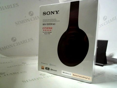 Lot 7089 SONY WH-100X M3 WIRELESS MOISE CANCELLING STEREO HEADSET