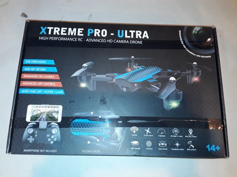 Lot 1077 XTREME PRO-ULTRA HIGH PERFORMANCE HD CAMERA DRONE