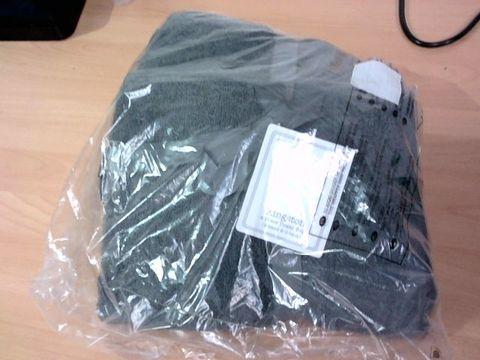 Lot 1208 4 PIECE QUICK DRY 450GSM TOWEL BALE SET - DARK GREY  RRP £15.00