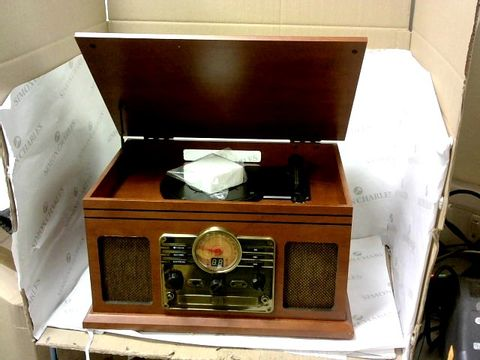 Lot 13289 IBOX WALTERS TIMELESS COLLECTION RETRO TURNTABLE