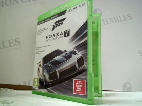 Lot 8188 FORZA MOTORSPORT 7 XBOX ONE GAME