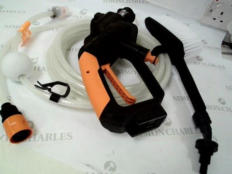Lot 12460 WORX CORDLESS PRESSURE WASHER