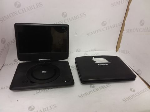 """Lot 12424 LOT OF 2 ASSORTED POLAROID 9"""" PORTABLE DVD PLAYERS"""