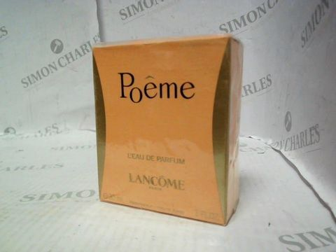 Lot 5004 BRAND NEW AND SEALED LANCOME POEME EDP 30ML