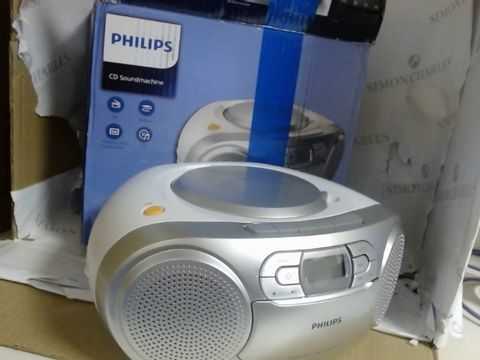 Lot 7558 PHILIPS CD SOUNDMACHINE