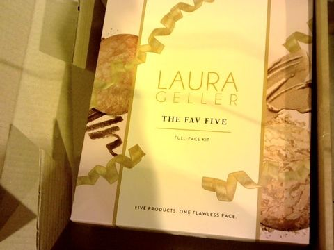 Lot 12093 LAURA GELLER THE FAVE FIVE FULL FACE KIT DEEP