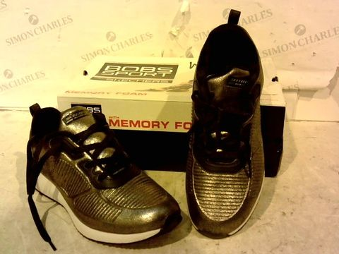 Lot 15939 BOXED PAIR OF BOBS SPORTS FROM SKETCHERS TRAINERS SIZE 6