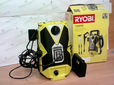 Lot 4192 RYOBI RPW110B PRESSURE WASHER