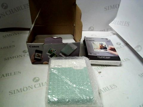 Lot 4082 CANON SELPHY SQUARE QX10 INSTANT PHOTO PRINTER  RRP £199.00