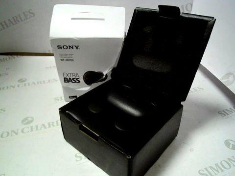 Lot 4049 SONY WF-XB700 TRUE WIRELESS HEADPHONES RRP £169.00