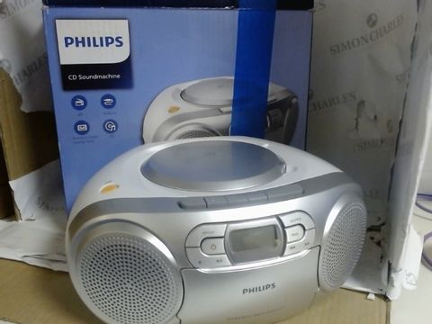 Lot 7559 PHILIPS CD SOUNDMACHINE