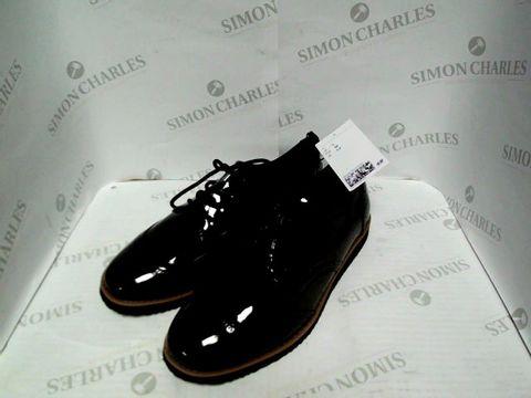 Lot 1000 H&M BLACK SMART SHOES - UK SIZE 5