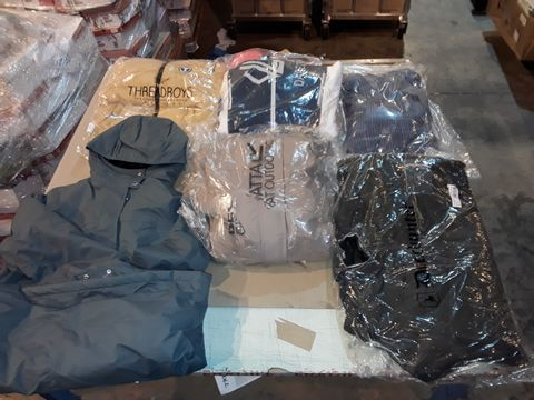 Lot 4060 CAGE OF ASSORTED UNPROCESSED ADULT CLOTHING PRODUCTS