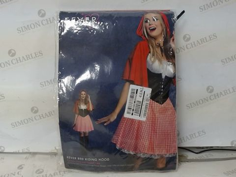 Lot 13 FEVER RED RIDING HOOD COSTUME SIZE S RRP £53.00
