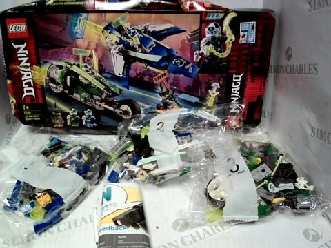 Lot 90 LEGO NINJAGO JAY AND LLOYD'S VELOCITY RACERS 71709  7+