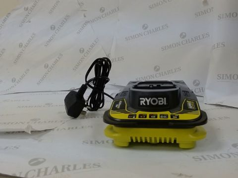 Lot 10034 RYOBI-ONE+ 18V SUPER FAST CHARGER