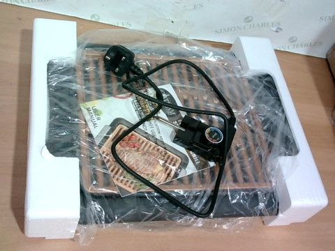 Lot 3297 GOTHAM STEEL COPPER NON-STICK ELECTRIC INDOOR GRILL