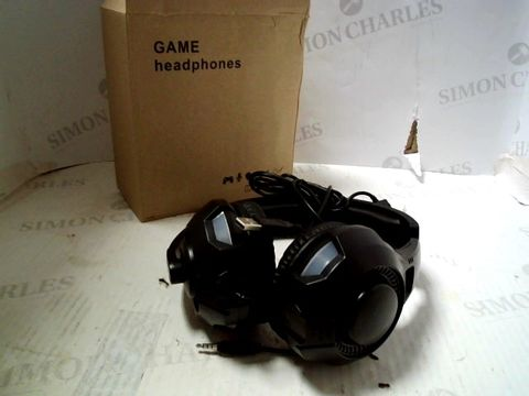 Lot 258 UNBRANDED GAMING HEADSET