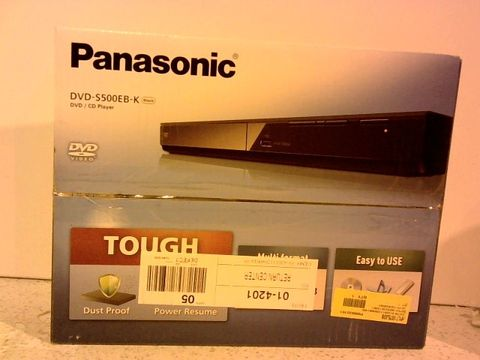 Lot 12297 PANASONIC DVD S500EB-K