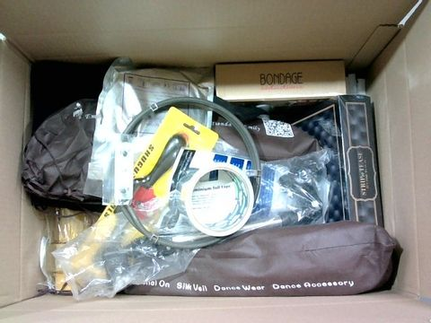 Lot 2323 BOX OF LARGE QUANTITY OF ASSORTED HOUSEHOLD ITEMS