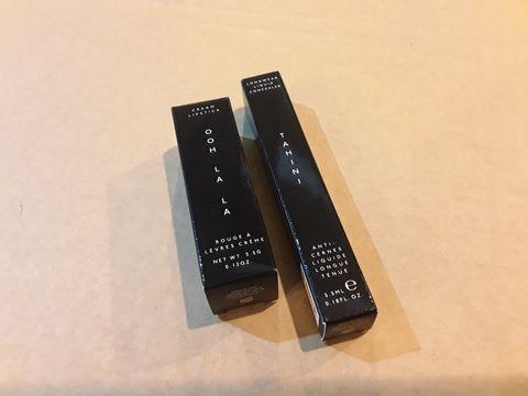 Lot 13576 BOX OF 136 BRAND NEW COSMETIC ITEMS TO INCLUDE: OOH LA LA CREAM LIPSTICK, TAHINI LONGWEAR LIQUID CONCEALER