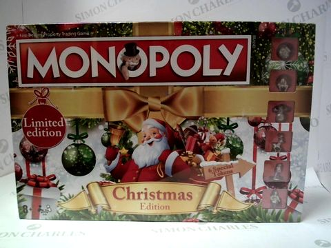 Lot 118 MONOPOLY CHRISTMAS EDITION