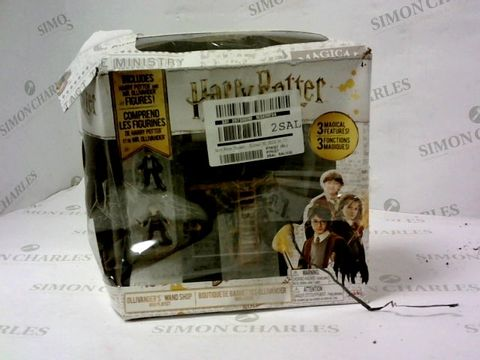 Lot 5451 HARRY POTTER OLLIVANDER'S WAND SHOP MINI PLAYSET RRP £19.99