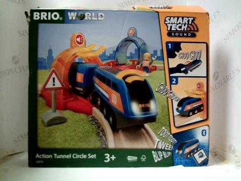 Lot 2490 BRIO WORLD ACTION TUNNEL CIRCLE SET