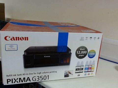 Lot 8513 CANON G3501 HIGH CAPACITY INKJET PRINTER