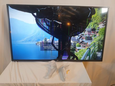 Lot 761 LG THINQ 50UN73 50 INCH 4K UHD SMART TELEVISION