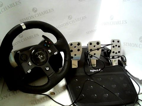 Lot 7246 LOGITECH G920 DRIVING FORCE RACING WHEEL AND FLOOR PEDALS FOR PC/MAC, XBOX ONE