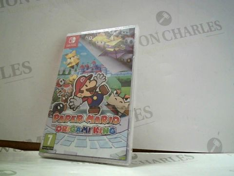 Lot 8158 PAPER MARIO THE ORIGAMI KING NINTENDO SWITCH GAME