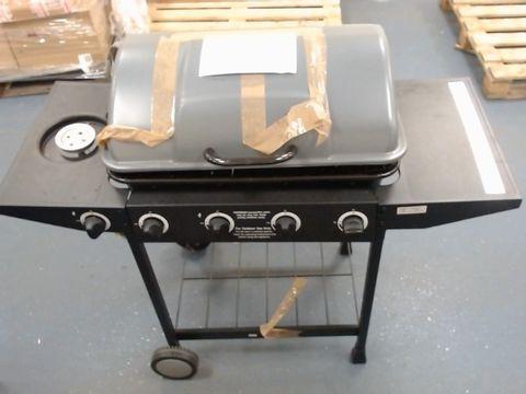 Lot 622 4-BURNER GAS BBQ WITH SIDE BURNER RRP £209.99