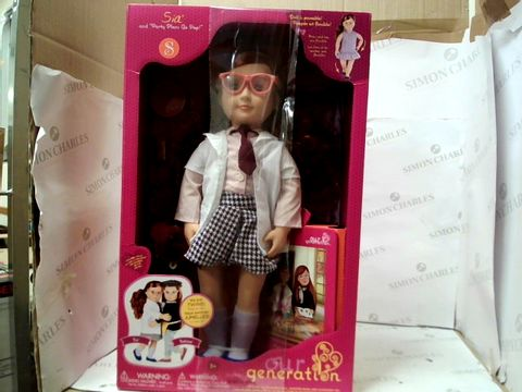 Lot 122 OUR GENERATION - SIA DOLL