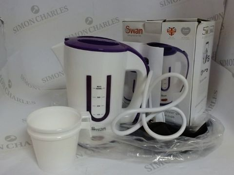 Lot 3621 SWAN DUAL VOLTAGE TRAVEL KETTLE 400ML
