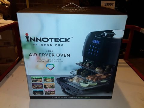 Lot 3043 BOXED INNOTECK KITCH PRO 1800W 12 LITRE AIR FRYER