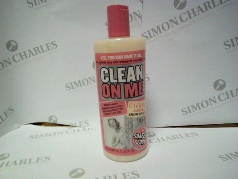 Lot 9296 SOAP & GLORY CLEAN ON ME SHOWER GEL