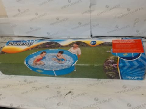 Lot 22 BESTWAY MY FIRST FRAME POOL RRP £36.99
