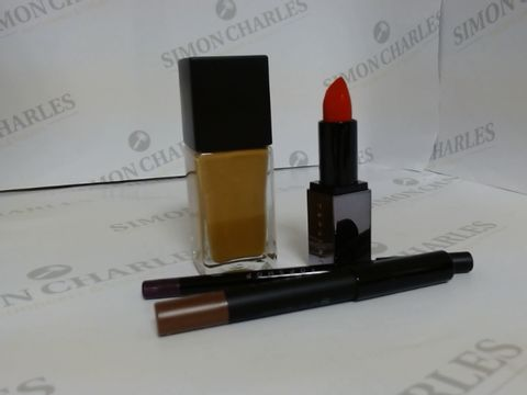 Lot 9464 BOX OF APPROXIMATELY 85 ASSORTED BRAND NEW MAKE UP ITEMS TO INCLUDE REVAMP EYE PENCIL, MISCHIEF LIPSTICK, CINNAMON FOUNDATION, ETC