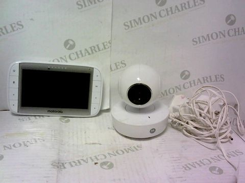 "Lot 612 MOTOROLA 5"" VIDEO BABY MONITOR"