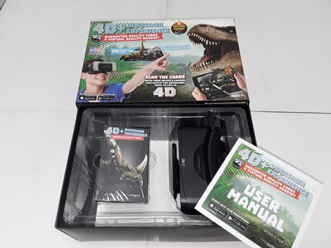 Lot 4149 4D AUGMENTED REALITY DINOSAUR EXPERIENCE