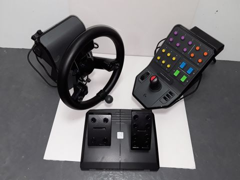 Lot 4225 LOGITECH HEAVY EQUIPMENT FARM SIM CONTROLLER
