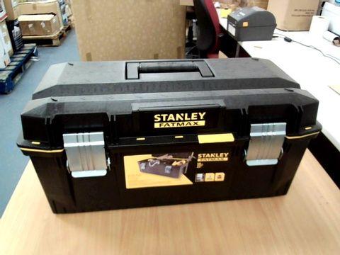 Lot 11502 STANLEY FATMAX TOOL BOX