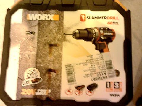 Lot 12176 WORX SLAMMER DRILL 20V