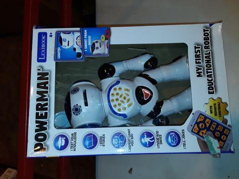 Lot 1096 LEXIBOOK POWERMAN ROBOT