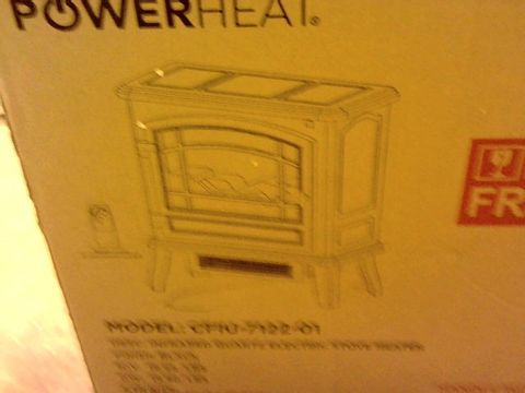 Lot 15012 POWERHEAT INFRARED STOVE AND REMOTE CONTROL