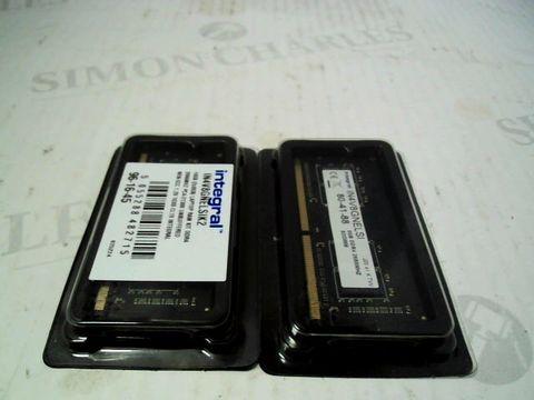 Lot 7304 INTEGRAL 16GB LAPTON RAM KIT IN4V8GNELSIK2