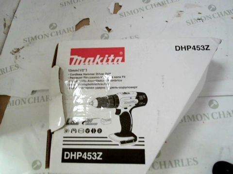 Lot 9256 MAKITA CORDLESS HAMMER DRIVER DRILL